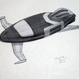 aircraft - marker on paper