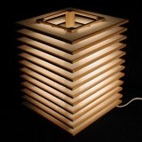 lamp - fluorescent light filter sheet and wood