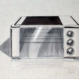 toaster/microwave - marker on paper
