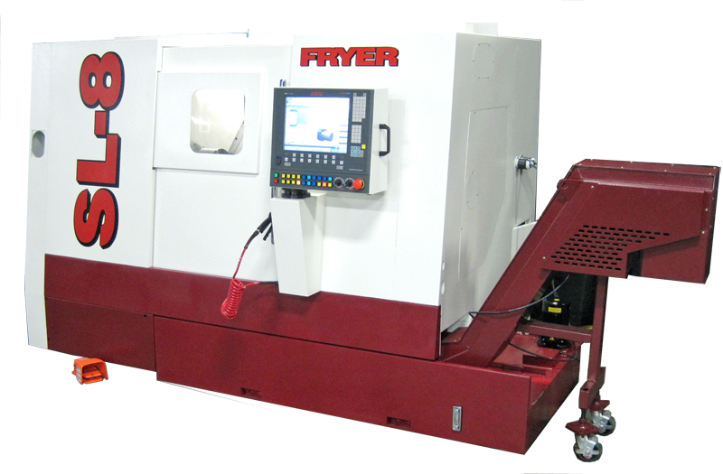 SL-8 Production Lathe with live tooling