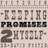 """Keeping Promises to myself.""    Dad always had a way with words. ""Keeping promises to myself"" is something he would say every time he wasn't necessarily thrilled to do something. Once my dad woke up in heaven we were trying to figure things out with his social networking. I looked at his Twitter account and noticed a tweet in the draft section. It read, ""going to the gym…against my will."" That's it. The perfect explanation. He wasn't overflowing with joy to go to the gym that day. But, he made a promise to himself to stay active and be healthy.  Dad was ""keeping promises to himself.""  We've all been there. It could be something small or a life changing event. Sometimes, it's easier to go back to bed. Be motivated and keep faith in God. Keep the promise you made to yourself.   I kept the type pretty, fancy, and bold. You're worth keeping promises to yourself and the type needed to portray that. I kept the colors mute in order to focus on the deep meaning behind such a simple statement."