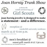 Eflyer for jewelry event at Girl Scouts of Middle Tennessee