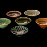 "Mini-dipping bowls.  Multiple glazes available.   Approximately 5""w x 3""h"