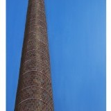 NW 23rd , round chimney , 27 x 40 inches , $600.