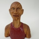 # 401 , Zebra wood , 11 inches,   NFS
