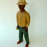 #409 ,  Walnut , US forest ranger , 24 inches    SOLD